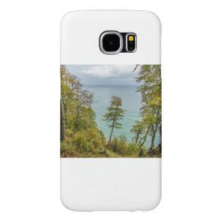 Coastal forest on the Baltic Sea coast Samsung Galaxy S6 Cases