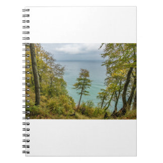 Coastal forest on the Baltic Sea coast Spiral Notebook