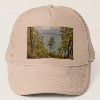 Coastal forest on the Baltic Sea coast Trucker Hat