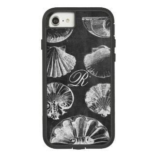 coastal french botanical art chalkboard seashells Case-Mate tough extreme iPhone 8/7 case