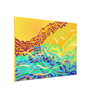 Coastal Frequencies 2 Canvas Print