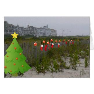 Coastal Holidays Card