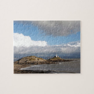 Coastal landscape and lighthouse jigsaw puzzle