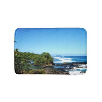 Coastal landscape in the South Seas Bath Mat