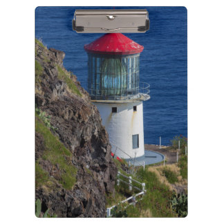Coastal lighthouse, Hawaii Clipboard