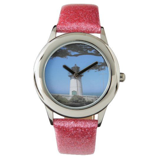 Coastal Lighthouse Wristwatch