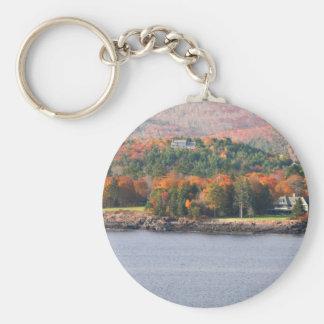 Coastal Maine keychain