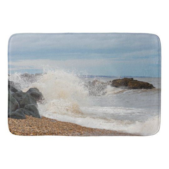 Coastal mat bath mat