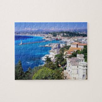 coastal nice france puzzle