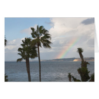 Coastal Rainbow Card