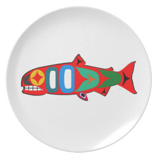 Coastal Salmon Plate