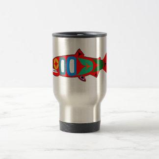 Coastal Salmon Travel Mug
