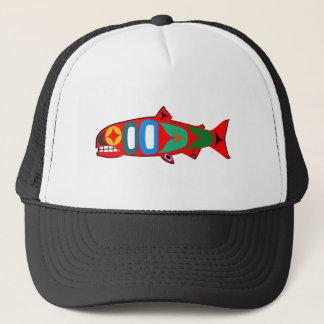 Coastal Salmon Trucker Hat