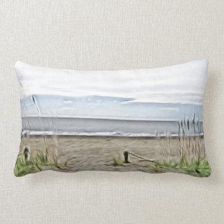 Coastal Sea Dunes of North Carolina Lumbar Pillow