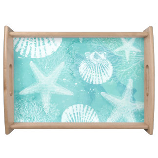coastal serving tray
