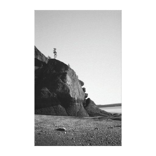 Coastal Shapes 4 Gallery Wrap Canvas