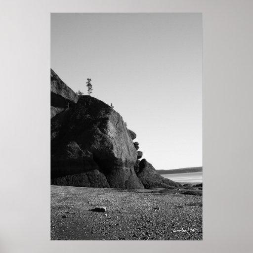 Coastal Shapes 4 Poster