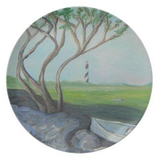 Coastal St. Augustine Melamine Plate