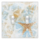 Coastal Starfish Print | Light Switch Cover