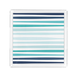Coastal Stripe Tray