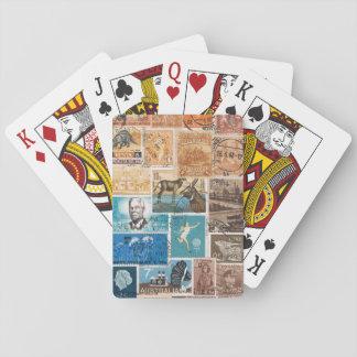 Coastal Sunset Playing Cards, Boho Travel Art Poker Deck
