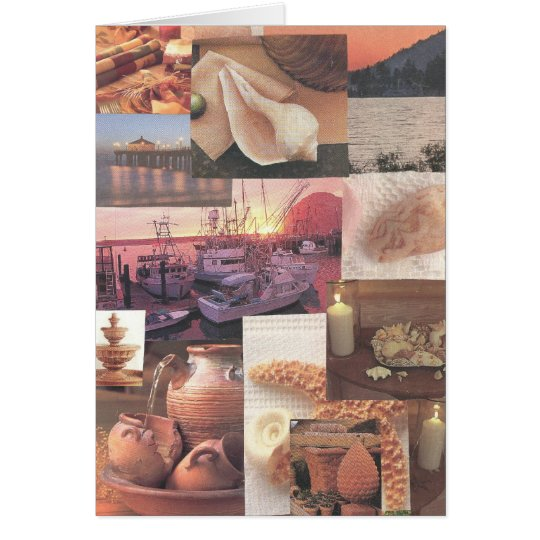 Coastal Themed Greeting Card