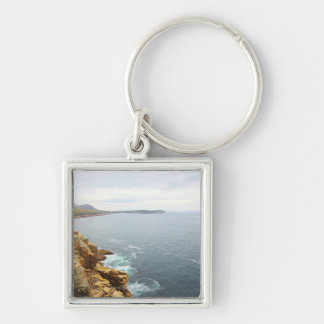 Coastal View of Acadia National Park Keychain