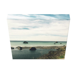 Coastal Views Canvas Print