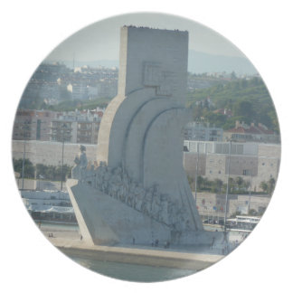 Coastal Views - Monument to the Discoveries Dinner Plate