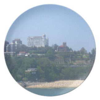 Coastal Views - Santander, Spain Plate