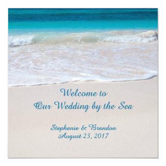 Coastal Vows Wedding by the Sea Program