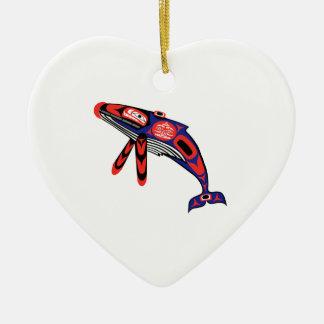 Coastal Waters Ceramic Ornament