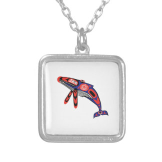 Coastal Waters Silver Plated Necklace