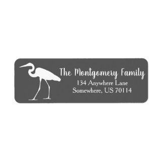 Coastal White Egret & Gray Family