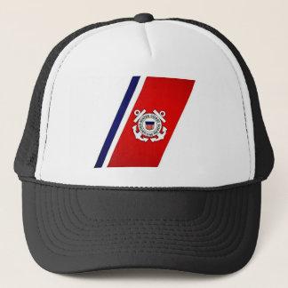 CoasteGuardstripes Trucker Hat