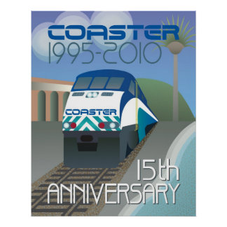 Coaster 15th Anniversary Poster