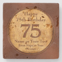 Coaster Birthday Gift For A 75 Year Old Man