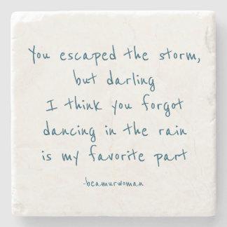 Coaster dancing in the rain is my favorite part