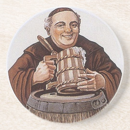 Coaster Happy Friar Monk Tasting Abbey-style beer