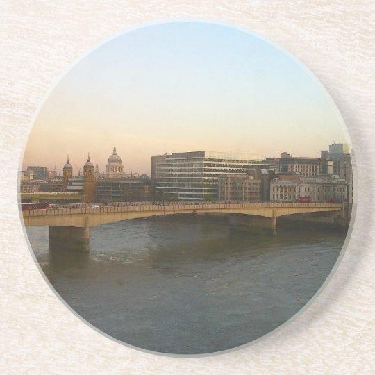 Coaster: London Bridge at Dawn Coaster