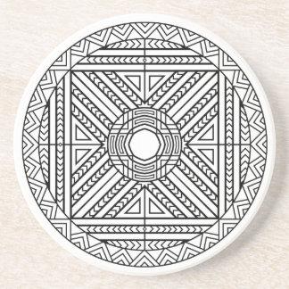 Coaster Mandala Abstract Geometric