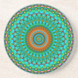 Coaster Mandala Geometric Mandala G388