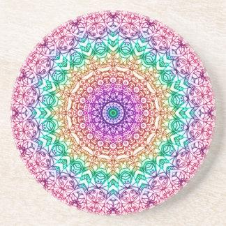 Coaster Mandala Mehndi Style G379