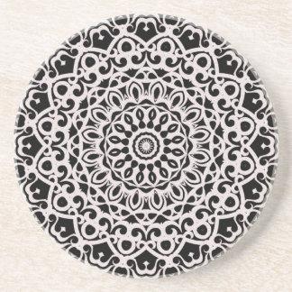 Coaster Mandala Tribal Mandala G385