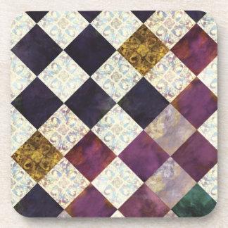 Coaster - mosaic purple