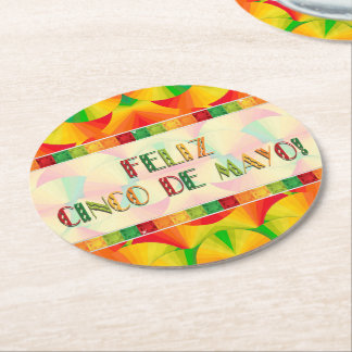Coaster - Paperboard - Citrus Fans
