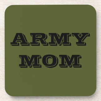 Coaster Set Army Mom