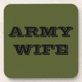 Coaster Set Army Wife