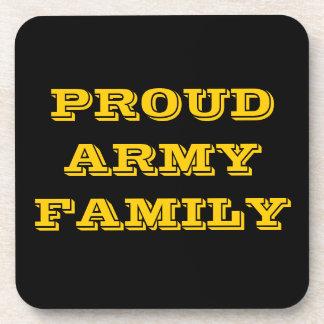 Coaster Set Proud Army Family