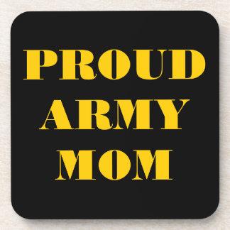 Coaster Set Proud Army Mom